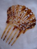 Edwardian to 1920's Faux Tortoiseshell Haircomb (SOLD)